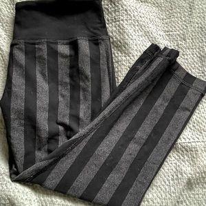Lululemon Stripe Cropped Leggings